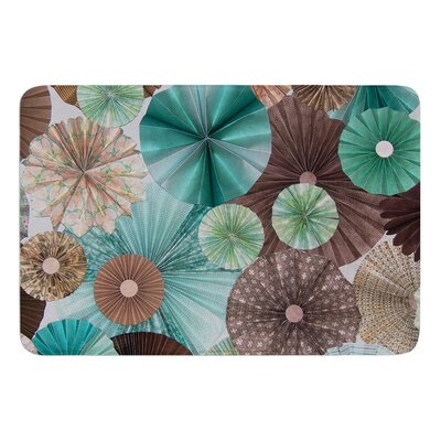 Atlantis by Heidi Jennings Bath Mat Size: 17W x 24L