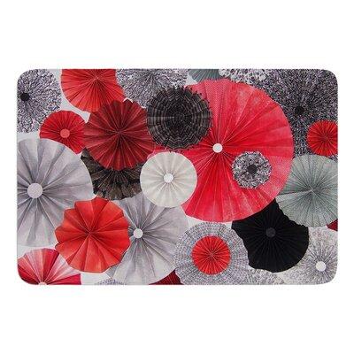 Kyoto by Heidi Jennings Bath Mat Size: 24 W x 36 L