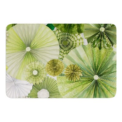 Green Thumb by Heidi Jennings Bath Mat Size: 17W x 24L
