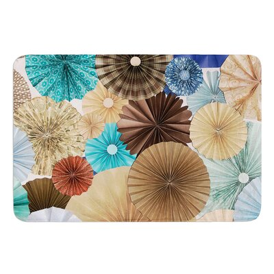 Day At The Beach by Heidi Jennings Bath Mat Size: 24 W x 36 L