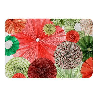 Christmas Remix by Heidi Jennings Bath Mat Size: 17W x 24L