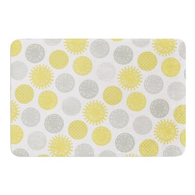 Sunspot by Heidi Jennings Bath Mat Size: 17W x 24L