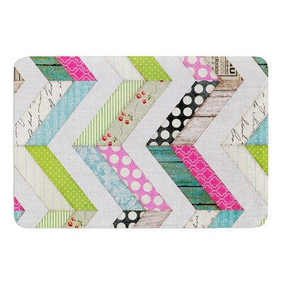 Fabric Much? by Heidi Jennings Bath Mat Size: 24 W x 36 L