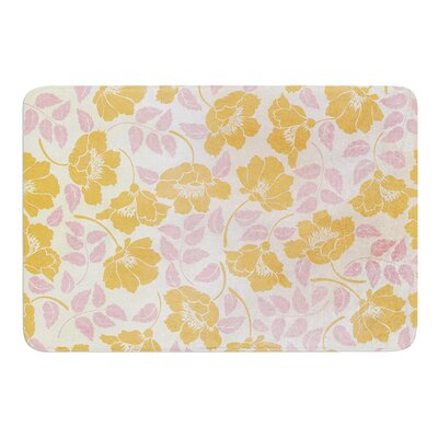 Sun Kissed Petals by Heidi Jennings Bath Mat Size: 17W x 24L