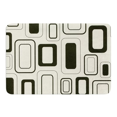 Cubes For Days by Heidi Jennings Bath Mat Size: 17W x 24L