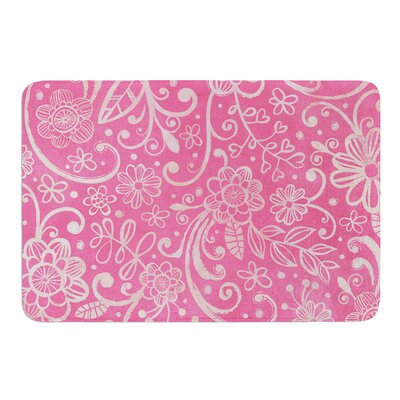 Too Much by Heidi Jennings Bath Mat Size: 24 W x 36 L
