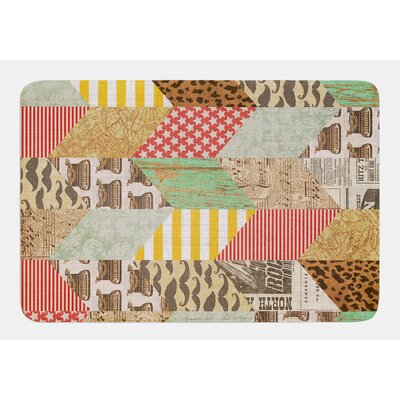 Hodge Podge by Heidi Jennings Bath Mat Size: 24 W x 36 L