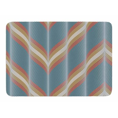 Wavy Chevron by Karina Edde Bath Mat