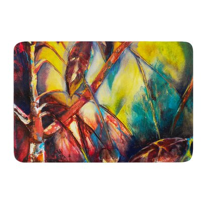 Growth by Kristin Humphrey Bath Mat Size: 17