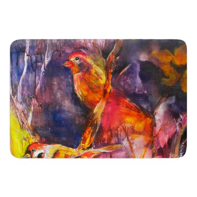 In Depth by Kristin Humphrey Bath Mat Size: 17 W x 24 L