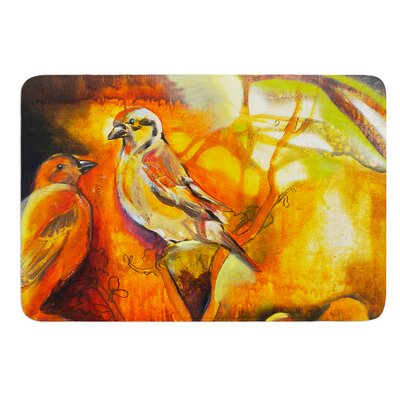 Reflecting Light by Kristin Humphrey Bath Mat Size: 17
