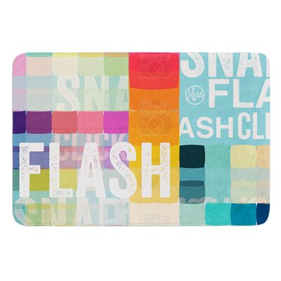 Flash Bath Mat Size: 24 W x 36 L