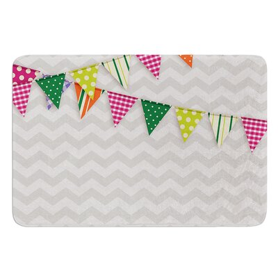 Flags 1 Bath Mat Size: 17 W x 24 L