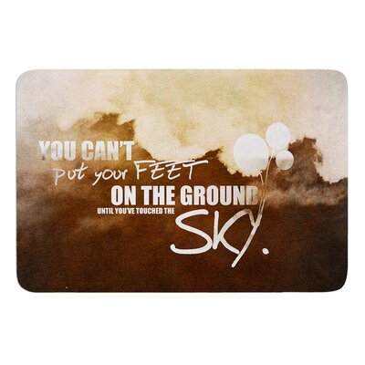 Touch the Sky Bath Mat Size: 24 W x 36 L