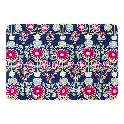 Turkish Vase by Laura Nicholson Bath Mat