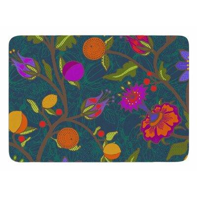 Flora Exotica by Laura Nicholson Bath Mat