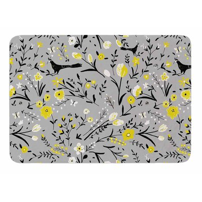 Blackbirds by Laura Nicholson Bath Mat