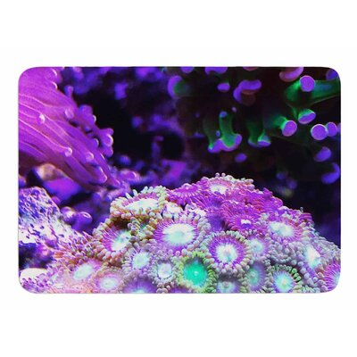 Coral Reef by Liz Perez Bath Mat