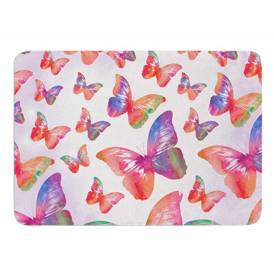 Butterfly by Li Zamperini Bath Mat