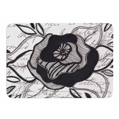 Like A Rose by Li Zamperini Bath Mat