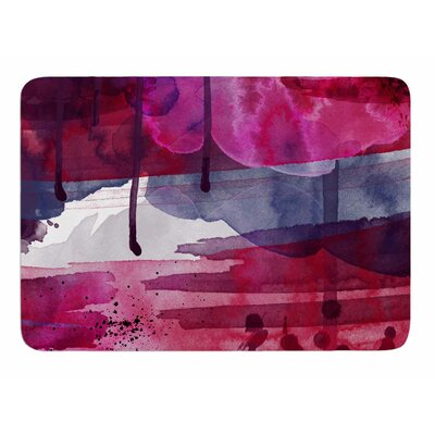 Purple by Li Zamperini Bath Mat