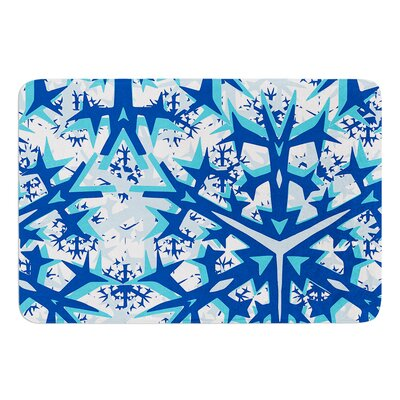 Winter Mountains by Miranda Mol Bath Mat