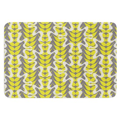 Whirling Leaves by Miranda Mol Bath Mat