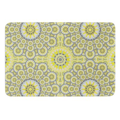 Multifaceted Flowers by Miranda Mol Bath Mat