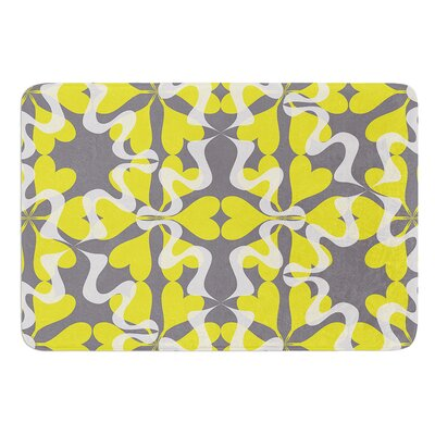 Flowering Hearts by Miranda Mol Bath Mat