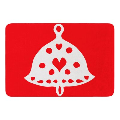 Jingle Bell by Miranda Mol Bath Mat