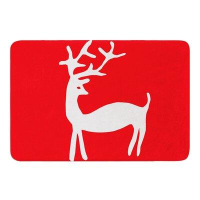 Reindeer by Miranda Mol Bath Mat