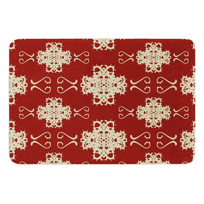 Asian Motif Damask by Mydeas Bath Mat Size: 17W x 24L