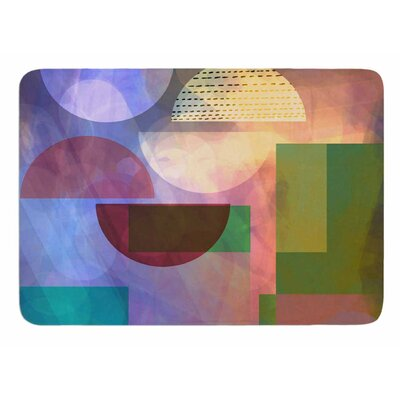 Baying At The Moon by AlyZen Moonshadow Bath Mat