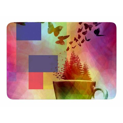 Teacup Fantasy by AlyZen Moonshadow Bath Mat