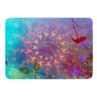 Illusion by AlyZen Moonshadow Bath Mat
