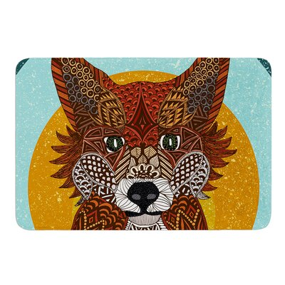 Colored Fox by Art Love Passion Bath Mat Size: 24 W x 36 L