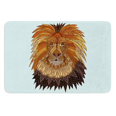 Lion by Art Love Passion Bath Mat Size: 24 W x 36 L