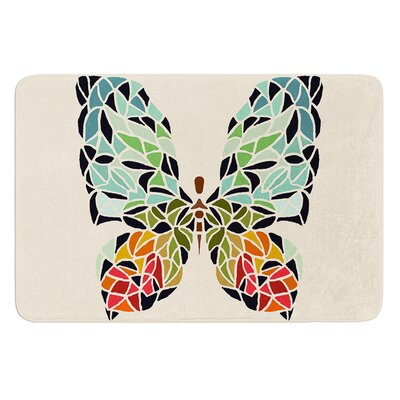 Butterfly by Art Love Passion Bath Mat Size: 17W x 24L