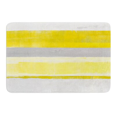 Lemon by CarolLynn Tice Bath Mat Size: 17W x 24L
