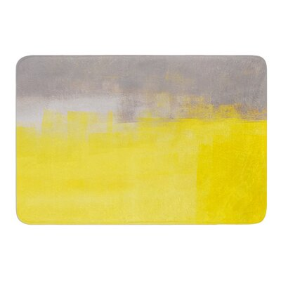A Simple Abstract by CarolLynn Tice Bath Mat Size: 17W x 24L
