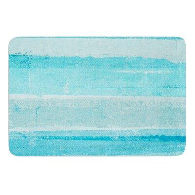 Sand Bar by CarolLynn Tice Bath Mat Size: 17W x 24L