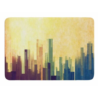 Cloud City by Cvetelina Todorova Bath Mat