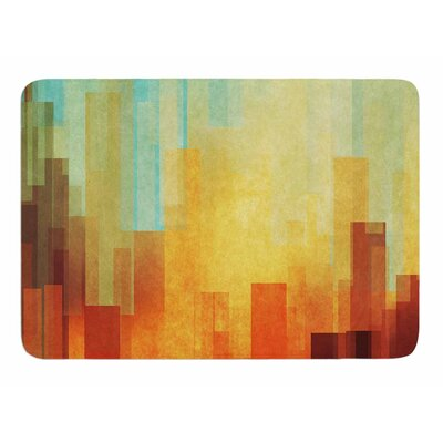 Urban Sunset by Cvetelina Todorova Bath Mat