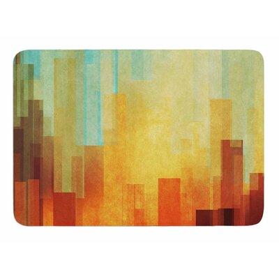 Urban Sunset by Cvetelina Todorova Bath Mat