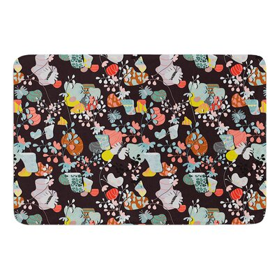 At Home by Akwaflorell Bath Mat Size: 24 W x 36 L