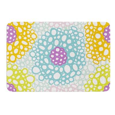 Bubbly by Emine Ortega Bath Mat Size: 24 W x 36 L