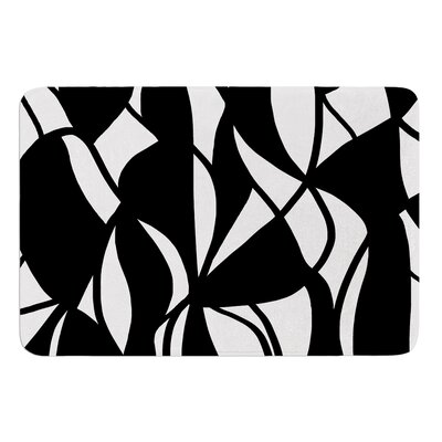 Sinuous by Emine Ortega Bath Mat Size: 17W x 24L