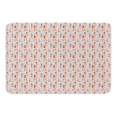 Miss Ruby by Holly Helgeson Bath Mat Size: 17W x 24L