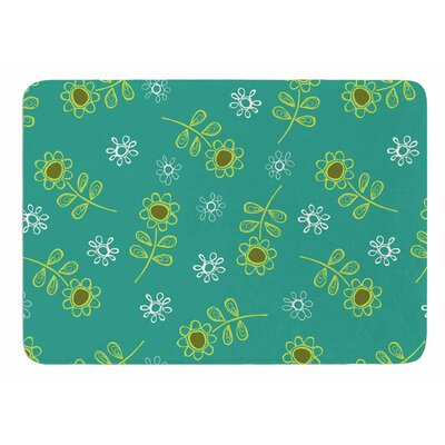 Ditsy Daisy by Holly Helgeson Bath Mat