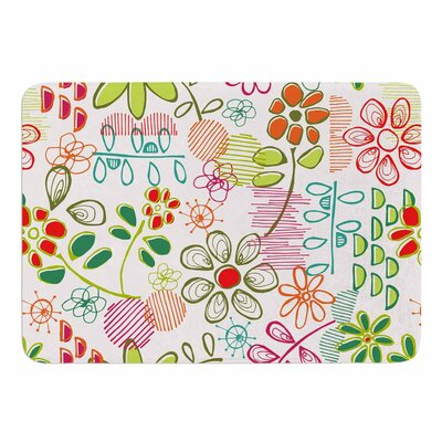 Wildflower by Holly Helgeson Bath Mat